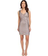 Calvin Klein - Beaded Shoulder Pin Tuck Sheath Dress CD5B2A52
