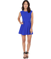 Gabriella Rocha - Crepe Cap Sleeve Fit & Flare Dress
