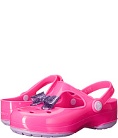 Crocs Kids - Carlie Glitter Bow Clog MJ PS (Toddler/Little Kid)