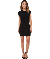 Michael Stars - Drape Neck Dress w/ Asymmetrical Drape