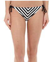 Tommy Bahama - Black & White Stripes String Bikini Bottom