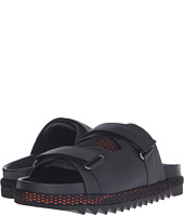 DSQUARED2 - Shark Soon Leather and Rubber Sandal