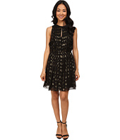 MICHAEL Michael Kors - Leones Spot Jacquard Dress