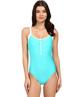 Nautica - Signature Soft Cup Zip One-Piece NA27566