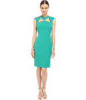 Versace Collection - Emerald Cutout Dress