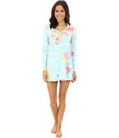 BedHead - Long Sleeve Sweet Heart Henley Nightshirt