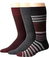 Cole Haan - Multi-Striped Crew 3-Pack