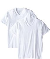 Calvin Klein Underwear - Big & Tall Cotton Classic 2-Pack Tall Short Sleeve V-Neck