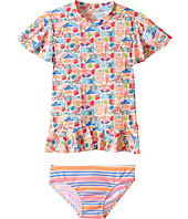 Seafolly Kids - Seaside Lane Sunvest Set (Infant/Toddler/Little Kids)