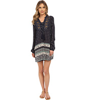Brigitte Bailey - Grace Long Sleeve Printed Dress with Tassel