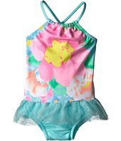 Seafolly Kids - Spring Bloom Apron Tank Top One Piece (Infant/Toddler/Little Kids)