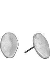 The Sak - Metal Pebble Stud Earrings