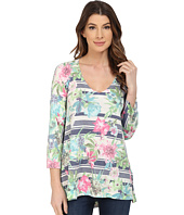 Nally & Millie - Floral Stripe Tunic