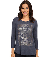 Lucky Brand - Metallic Birds Tee