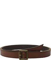Frye - 25mm Leather Belt with Heat Crease and Wrap Front Tip