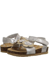 Baby Deer - Double Strap Sandal with Flowers (Infant/Toddler)