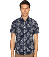 Jack Spade - Clift Short Sleeve Point Collar Bandana