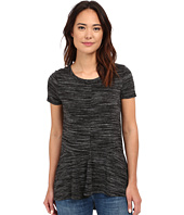 Mod-o-doc - Space Dyed Rayon Spandex Jersey Seamed Short Sleeve Tee