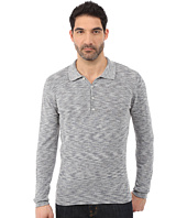 7 For All Mankind - Long Sleeve Polo Sweater