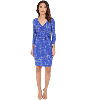 NYDJ - Antoinette Paradise Flourish Wrap Dress