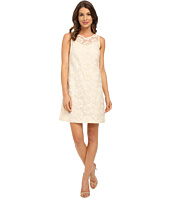 Donna Morgan - Sleeveless Embroidered Organza Shift