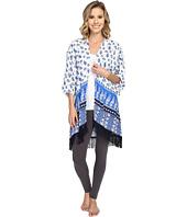 P.J. Salvage - Coastal Blue Print Kimono