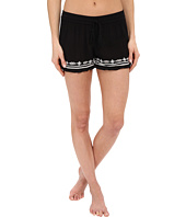 P.J. Salvage - Embroidered Gauze Shorts