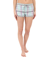 P.J. Salvage - Doubled Sided Plaid Shorts