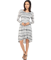 kensie - Animal Stripe Dress