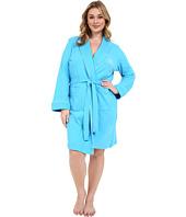 LAUREN Ralph Lauren - Plus Size Essentials Quilted Collar and Cuff Robe