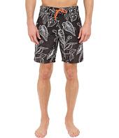 Paul Smith - Botanical Print Surf Swim Shorts