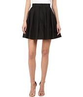 Vera Wang - Pleated Voluminous Skirt and Trousers Back