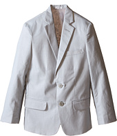 Calvin Klein Kids - Tri-Blend Linen Jacket (Big Kids)