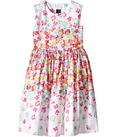Oscar de la Renta Childrenswear - Layered Pansies Cotton Party Dress (Toddler/Little Kids/Big Kids)