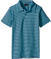 Oscar de la Renta Childrenswear - Striped Short Sleeve Polo (Toddler/Little Kids/Big Kids)