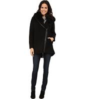Vince Camuto - Fur Hood Sweater Coat J8241