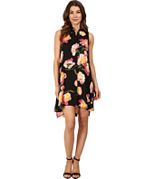 Adrianna Papell - Printed Fly Away Shirtdress