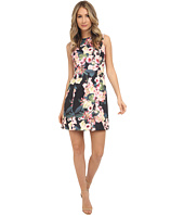 Adrianna Papell - Floral Printed Scuba Flare Dress