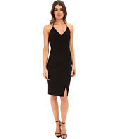 Laundry by Shelli Segal - Wrap Jersey Dress with Side Shirring