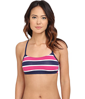 Tommy Bahama - Nautical Crop Bra w/ Cross Back