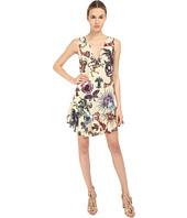 Just Cavalli - Love Royal Printed V-Neck Dress