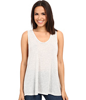 Alternative - Melange Jersey Cut Off Tank Top