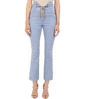 Just Cavalli - Tie Front Five-Pocket Pants