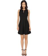 Kate Spade New York - Satin Crepe Fit and Flare Dress