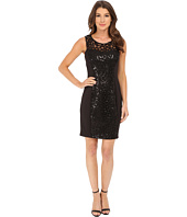 Jessica Simpson - Embellished Cut Out Sequin Dress