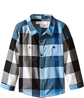 Burberry Kids - Twill Check Shirt (Infant/Toddler)