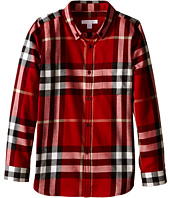 Burberry Kids - Exploded Scale Check Shirt (Little Kids/Big Kids)