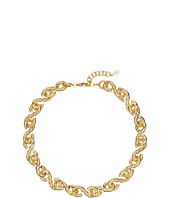 Cole Haan - Small Metal Logo Link Necklace