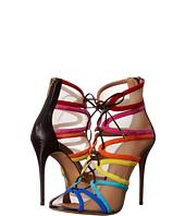 Salvatore Ferragamo - Multicolor Suede Lace Up High-Heel