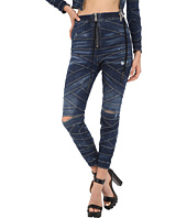 DSQUARED2 - Acqua Bubble Wash/Bondage Denim Pants